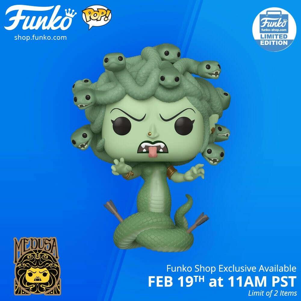 Funko Pop Medusa