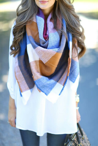 огромный  шарф