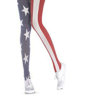 Колготки «Американский флаг»