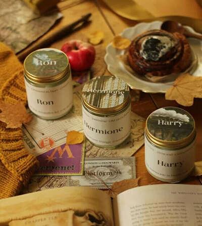 Соевые свечи по Гарри Поттеру