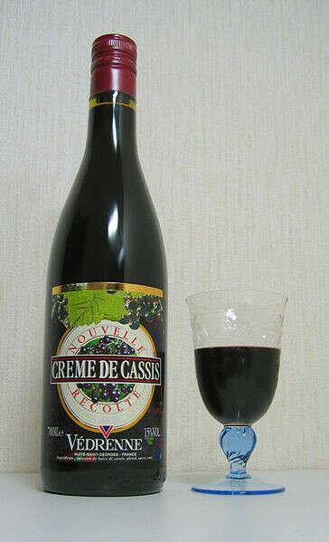 Смородиновый ликер Crème de Cassis