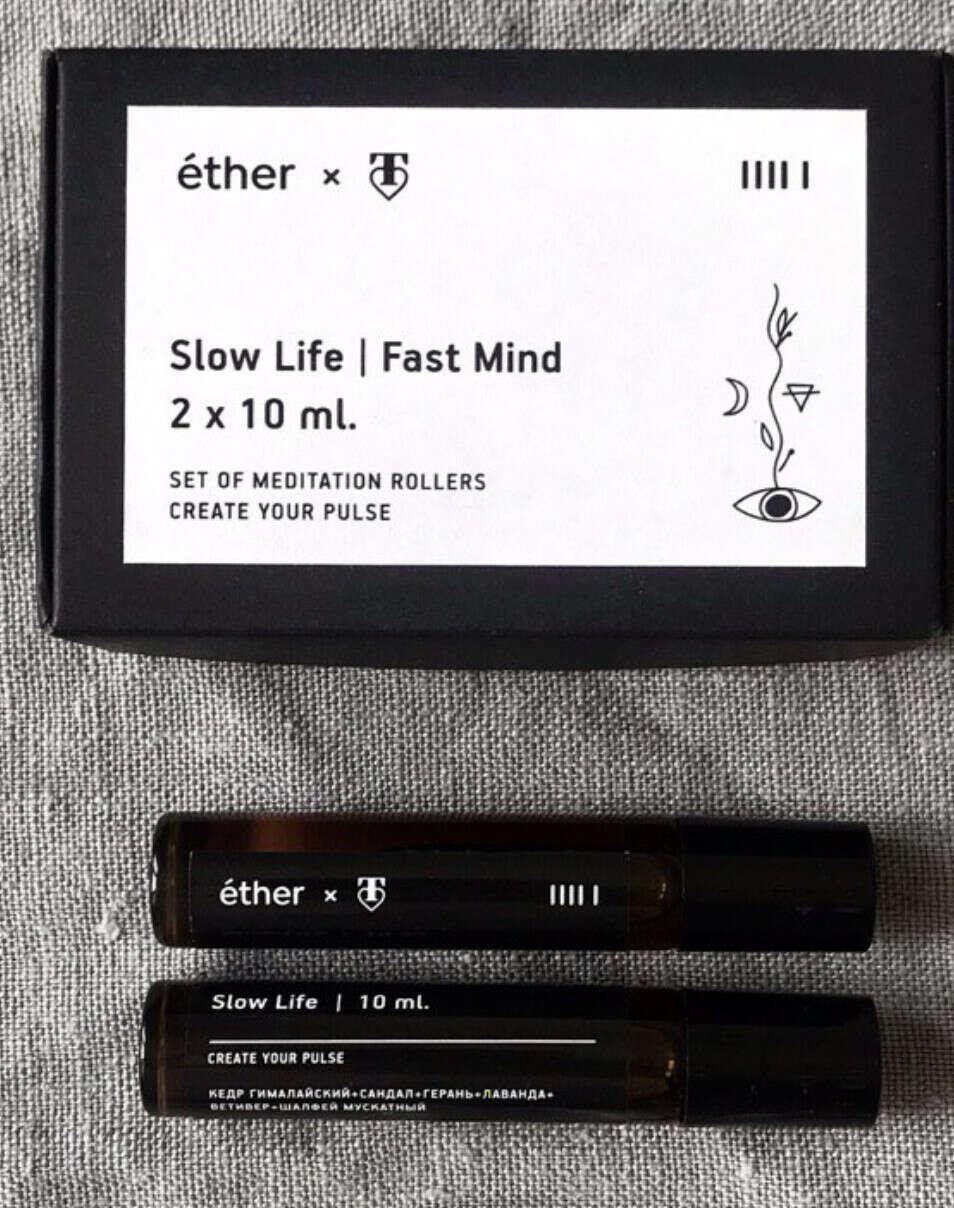 Роллеры Slow Life x Fast Mind