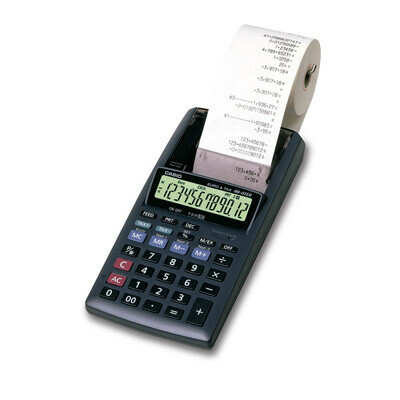 Калькулятор печатающий Casio HR-8TEC 12-разрядный - выгодная цена - купить товар Калькулятор печатающий Casio HR-8TEC 12-разрядный в интернет-магазине Комус