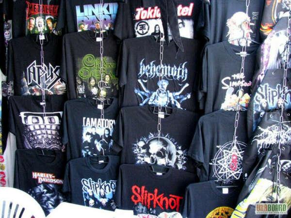 хочу рок-футболки
