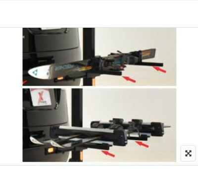 X-Rack Snow Accessory mount with track