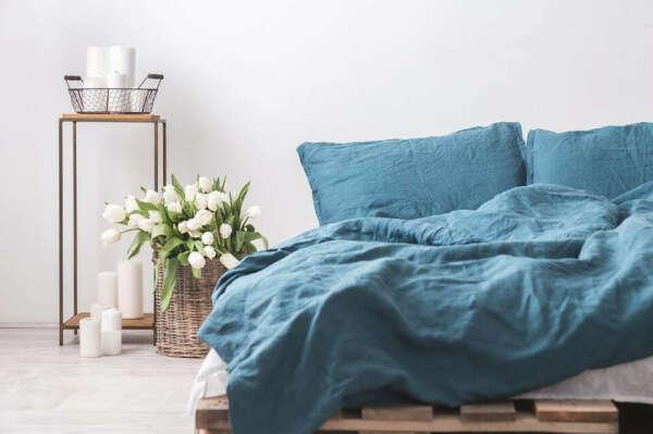 постельное белье из натурального льна