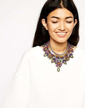 Многоярусное ожерелье ASOS