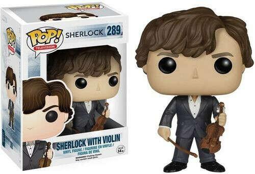Sherlock with Violin Funko Pop! Vinyl Figure    Шерлок со скрипкой