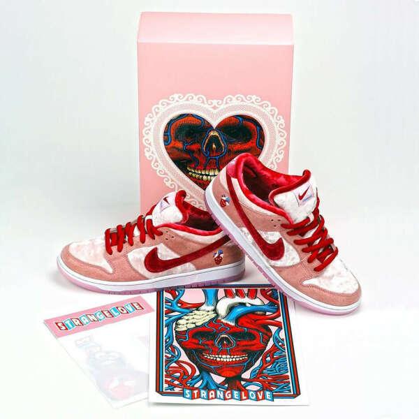 Nike Dunk low Strange Love 7.5us