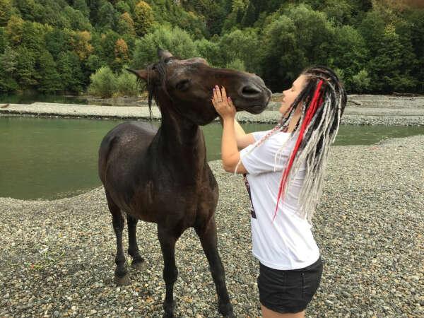 Занятие по конному спорту/конная прогулка