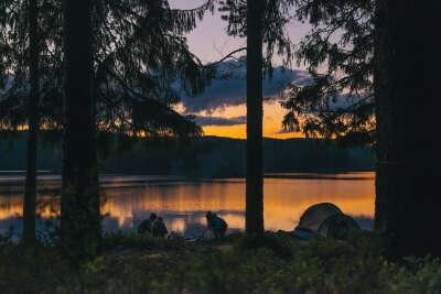Тур. поход с ночевкой в палатке