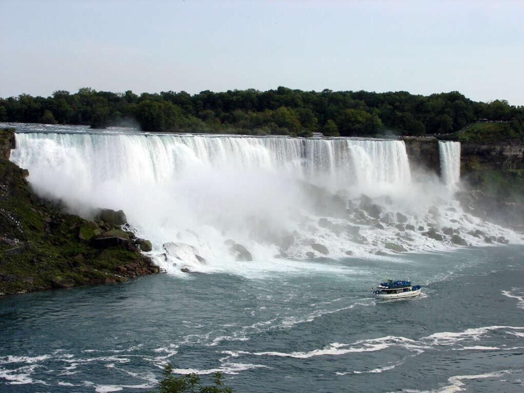 Увидеть Ниагарский водопад