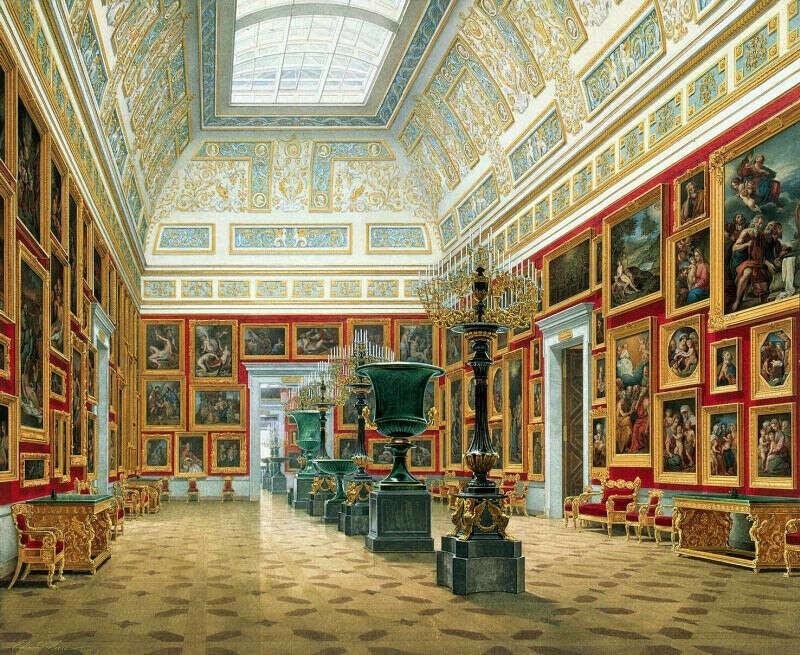 Посетить Эрмитаж и Третьяковскую галерею