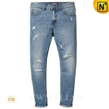 CWMALLS® Designer Skinny Denim Jeans CW107021