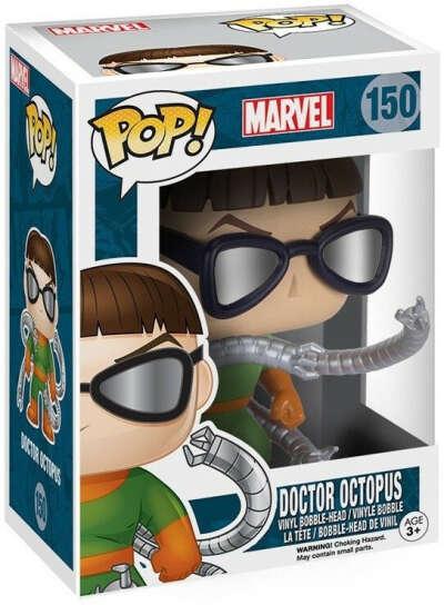 Фигурка Funko POP: Marvel – Doctor Octopus Bobble-Head (9,5 см)