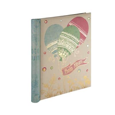 """Альбомы для фото """"Феникс-Презент"""" Фотоальбом с обложкой из картона 02 24 х 29 см Шарики 77721"""
