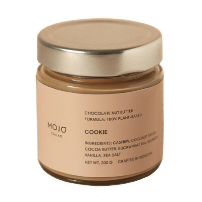 Mojo Cacao Паста шоколадно-ореховая Cookie