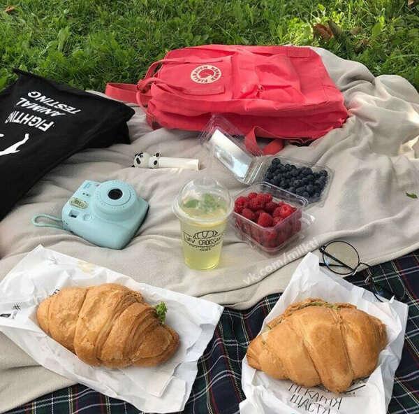 Пикник летом