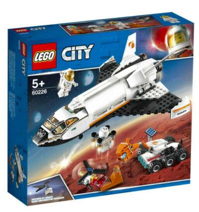 Конструктор LEGO City Space Port 60226 Шаттл для исследований Марса
