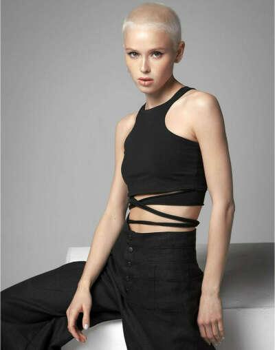 Топ с веревками от KATAMI WEAR купить за 3900 руб. в интернет-магазине LynxStore