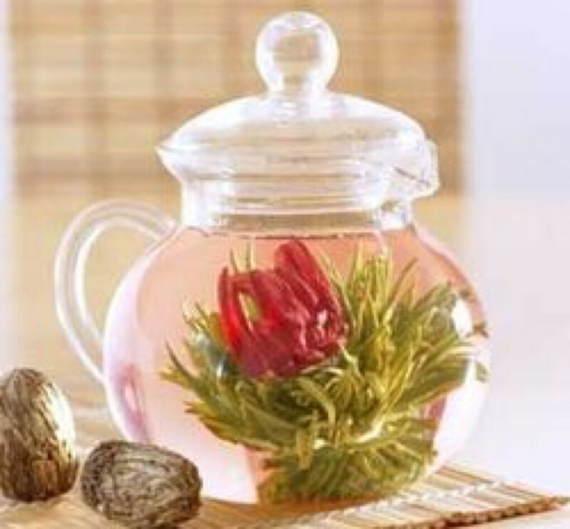 Прозрачный заварочный чайник