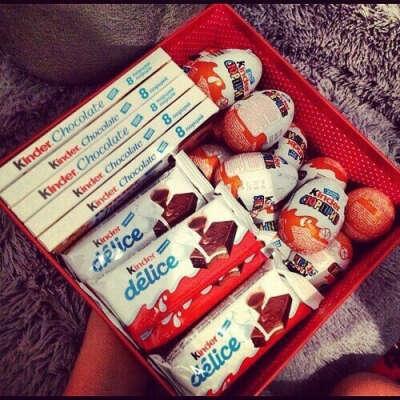 Коробка сладостей Kinder