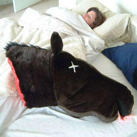 """Подушка """"Голова лошади"""""""