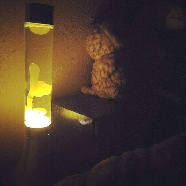 Лавовая лампа напольная