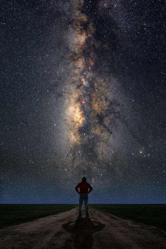 Увидеть млечный путь