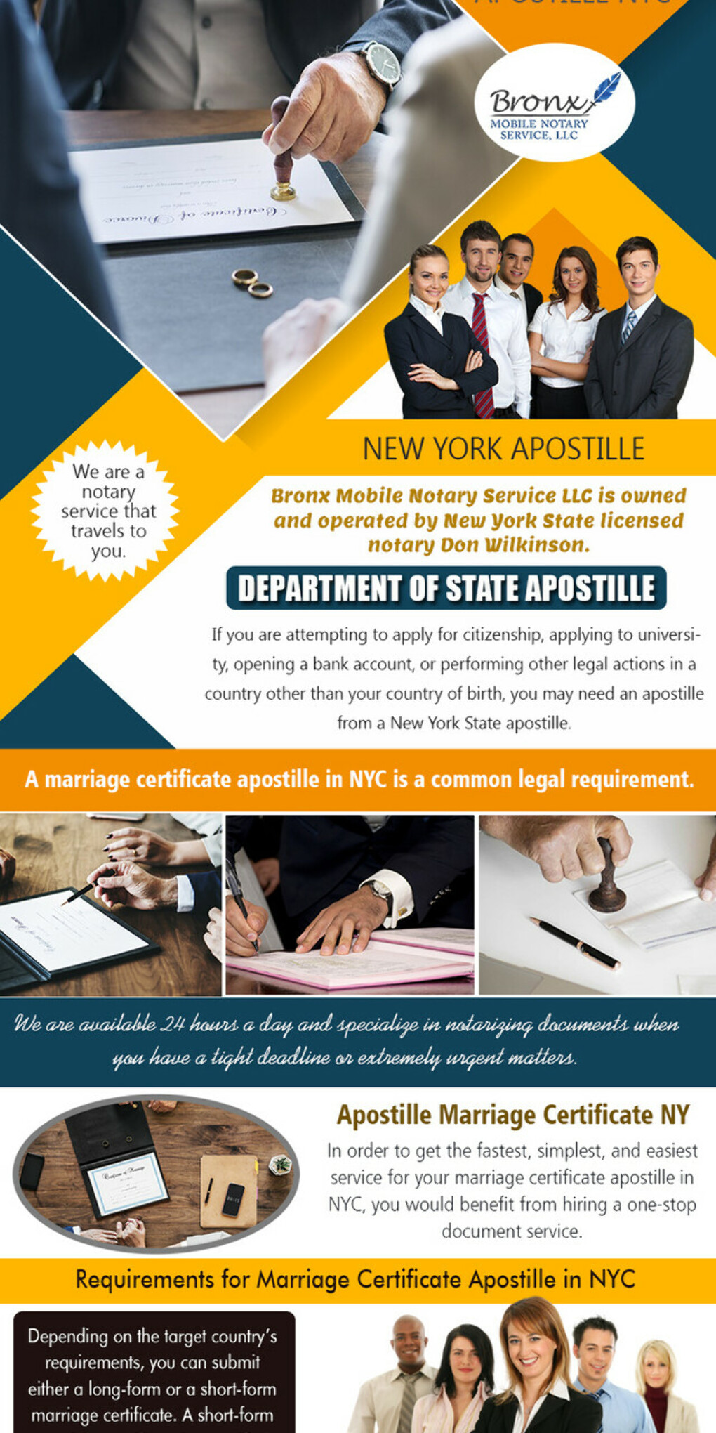 Apostille Marriage Certificate NY