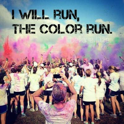 "Run ""The Color Run"""