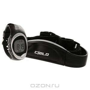 Часы спортивные Cielo с кардиомонитором для персональных тренировок, WT010
