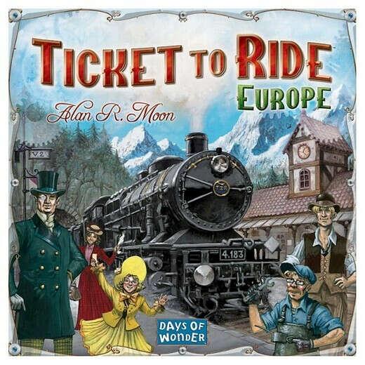 Билет на поезд: Европа (Ticket to Ride: Europe)