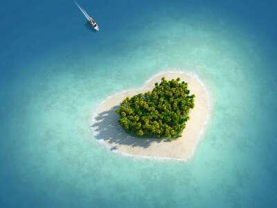 Хочу отдохнуть на этом острове, со своим любимым!
