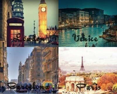 В турне по Европе