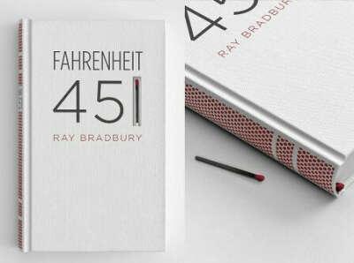 """Прочитать Рей Брэдбери """"451 градус по фаренгейту"""""""