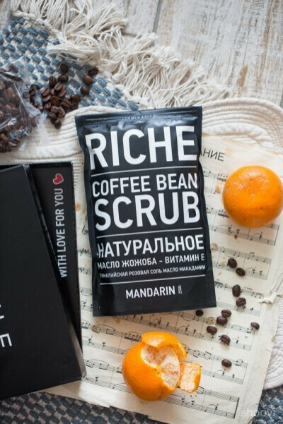 Riche Coffee Scrub Mandarin