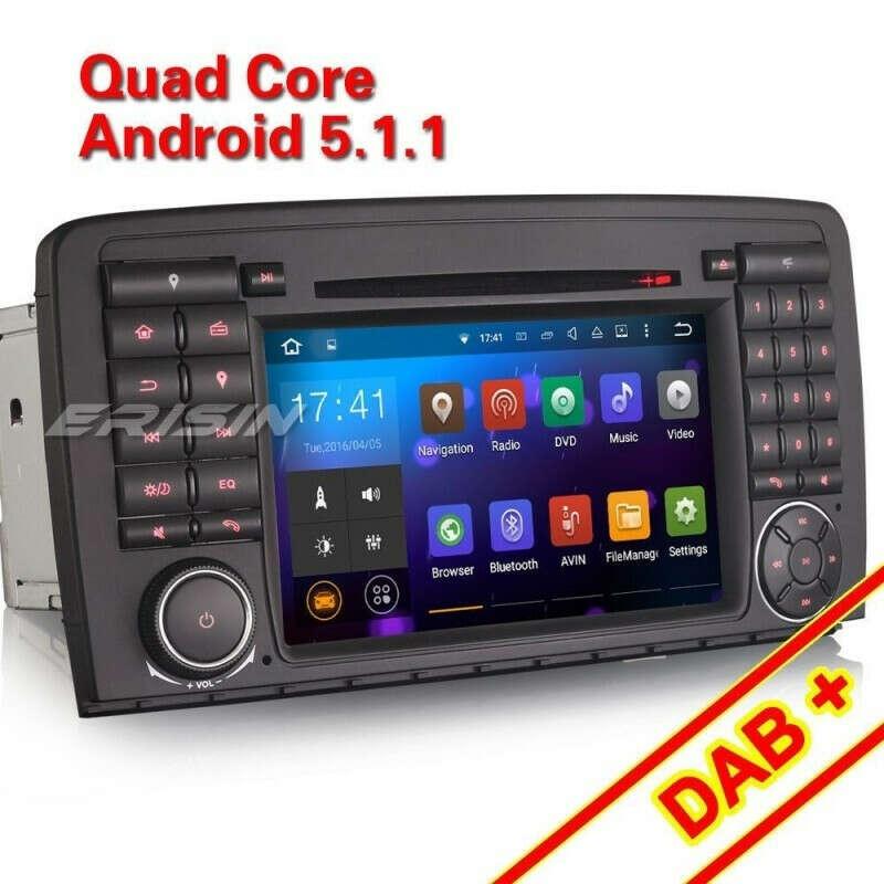 """ERISIN ES3081R 7"""" CAR RADIO GPS SYSTEM BLEUTOOTH RDS 3G DVR DAB+ FOR BENZ R-CLASS W251"""