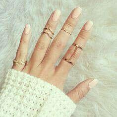 Миди-кольца