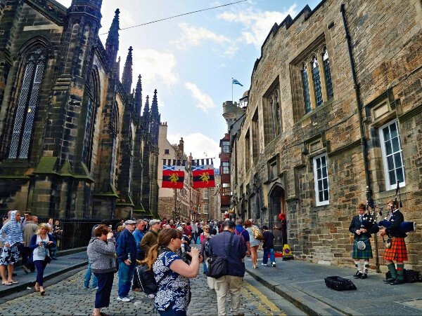 Съездить в Шотландию
