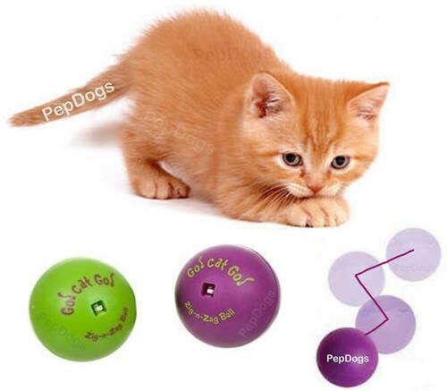 Игрушка для кошки ZIG-N-ZAG Go Cat Go Ball Cat Interactive Toy