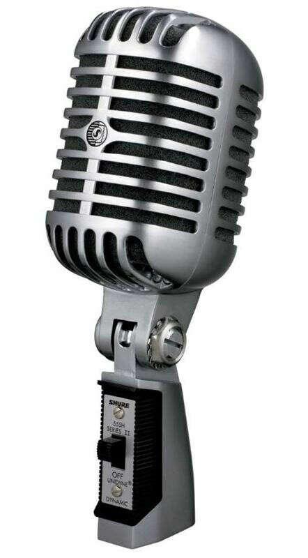 Shure 55SH SeriesII винтажный ретро-микрофон