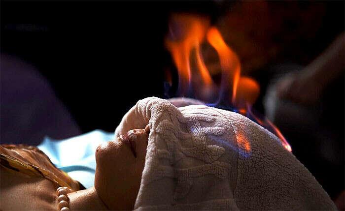 Попробовать Огненный массаж