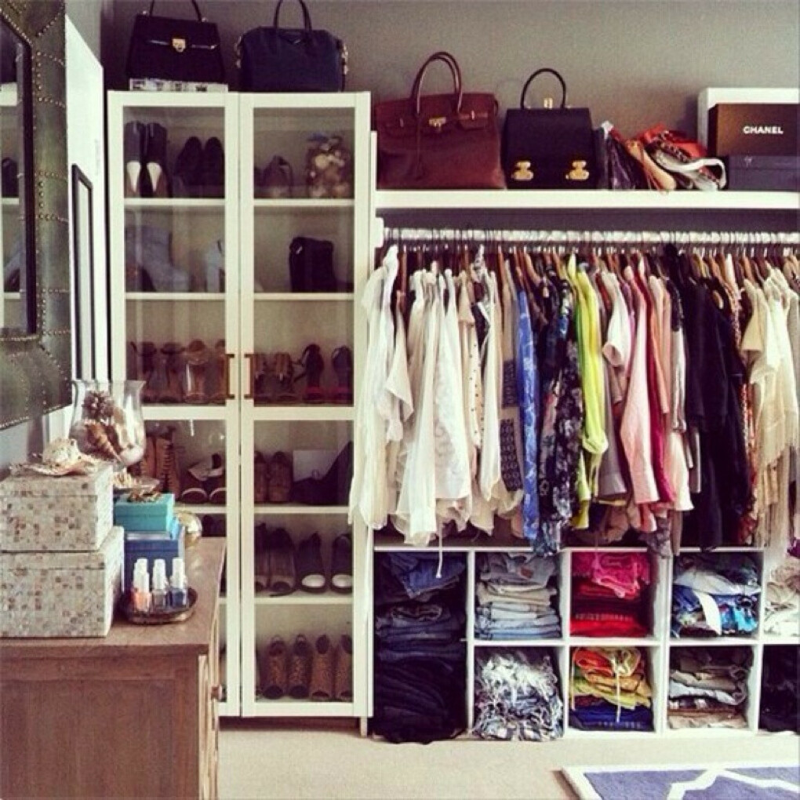 Большой гардероб