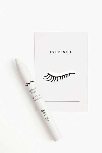 Белый карандаш для глаз