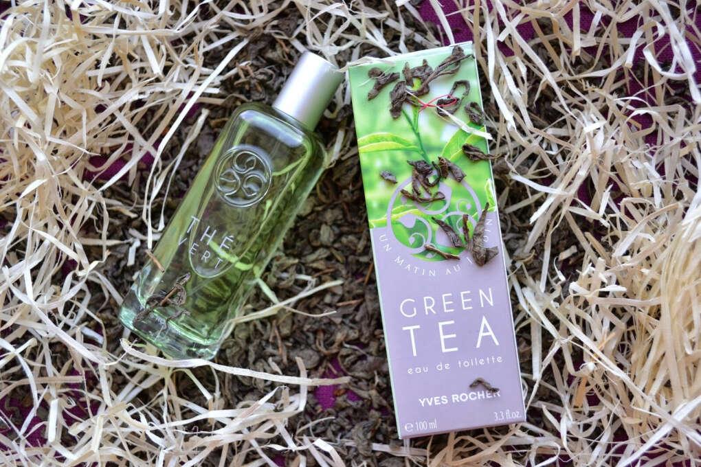 Yves Rocher Духи Зеленый Чай