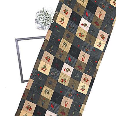 Multicolor Rayon Printed Fabric