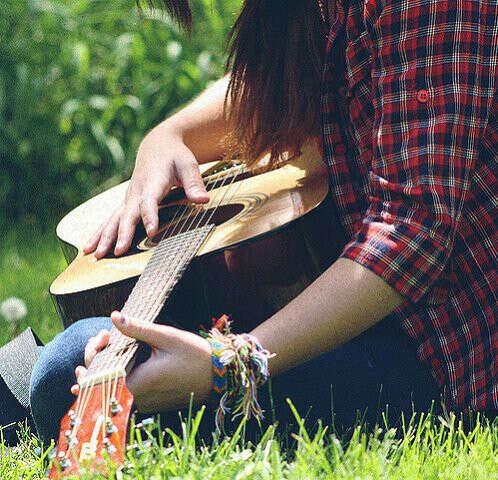 Пойти учиться игре на гитаре