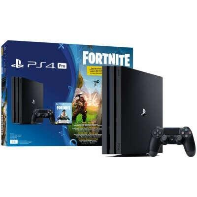 Игровая приставка PlayStation 4 PRO 1TB с игрой Fortnite