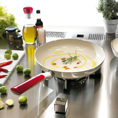 GUZZINI Ceramic coating frying pan by induction 28 cm